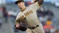 Snell Struggles, Padres Lose in San Francisco