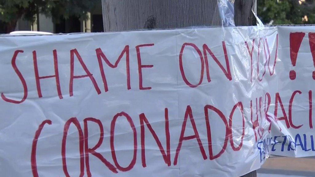 shame on you Coronado