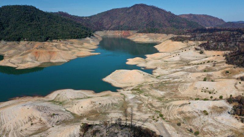 PHOTOS: Drought Depletes California's Reservoirs