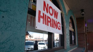 Now Hiring, Help Wanted Sign