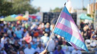 Transgender Pride Flag San Diego Pride