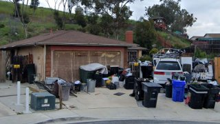 A home in Mesa Hills Court was assigned a receiver by a San Diego judge