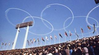 Rings at the 1964 Tokyo Games