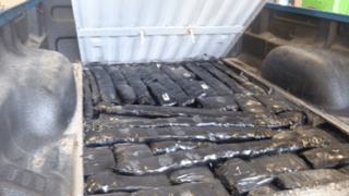 100+ Lbs. of meth discovered in false compartment