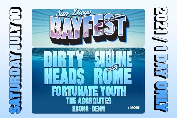 Bayfest 2021 Flyer, courtesy of Mikey Beltran