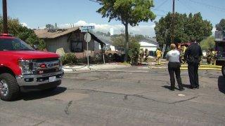 San Carlos House Fire