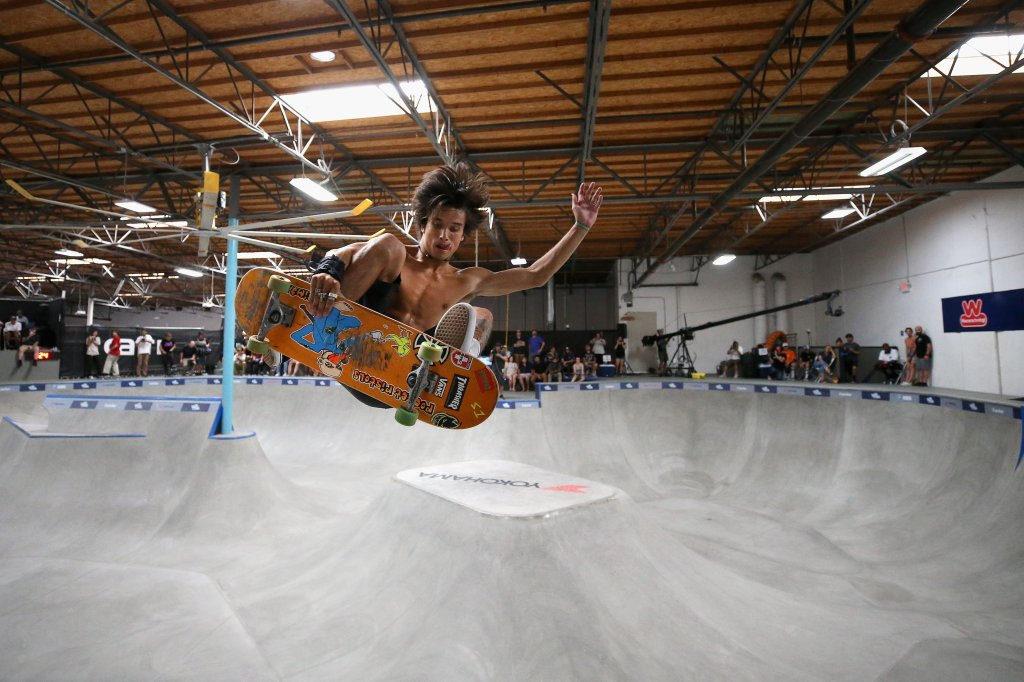 Nitro World Games Skateboard Park and Vert Competitions