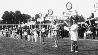 Olympics Antwerp Opening Ceremony