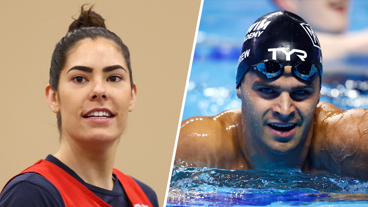 nbcsandiego.com - Monica Garske - 5 to Watch at the Tokyo Olympics on Day 1: Swimming, Basketball, Volleyball