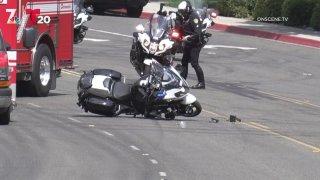 Mira Mesa crash scene