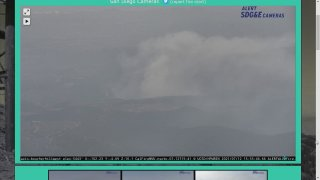 smoke from a wildfire near Valley Center