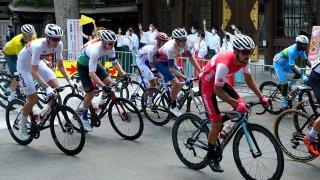Men's Road Race at Tokyo Olympics