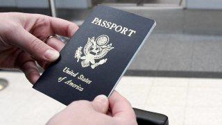 pasaporte de Estados Unidos