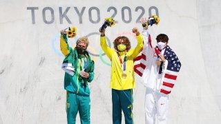 Skateboarding - Olympics: Day 13
