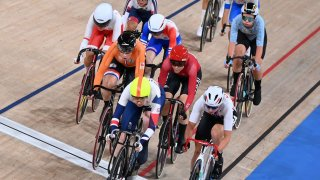 Katie Archibald leads cycling pack