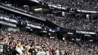 Las Vegas Raiders Allegiant Stadium in Las Vegas, Nevada.