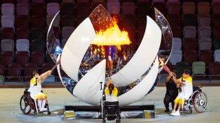 Tokyo Paralympics Flame
