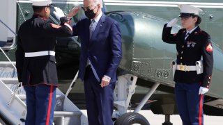 Joe Biden and Marine Corp