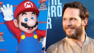 Mario of Super Mario Brothers Chris Pratt