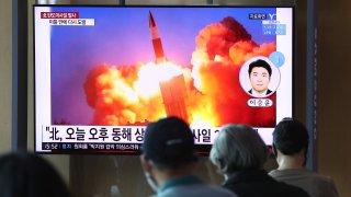 North Korean missile launch,