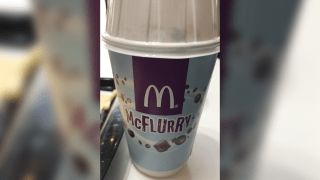 A McFlurry from McDonald's.