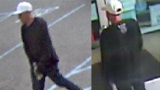 An image of the suspected arsonist.