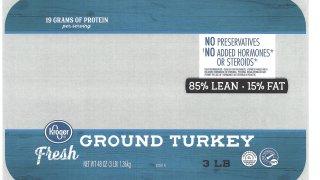 Ground turkey packaging