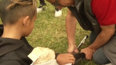 10-Year-Old Amputee From Chula Vista Celebrates Getting New Prosthetic Running Leg