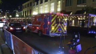 Ambulance in Downtown San Diego
