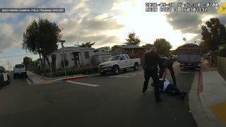 Officer Shooting in Chollas Creek