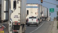 Thousands of Trailers Sit Idle in Otay Mesa, Waiting for Truck Drivers