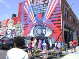 Hillcrest 'Street Art' Mural Gets Tagged
