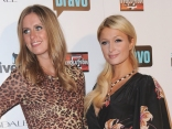 "Paris & Nicky Hilton Talk Up Beverly Hills ""Housewives"""