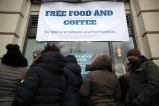 Food Banks and Businesses Feed Furloughed Workers