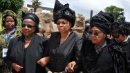 South Africa Mandela Mourning