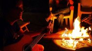 campfire-guitar-camping