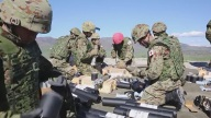 US, Japanese Soldiers Train Together at Camp Pendleton