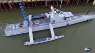 Navy Tests Unmanned Ship