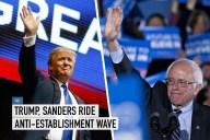 #2 Trump/Sanders