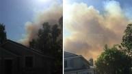Wildfire Burns 250 Acres Near Corona