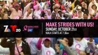 Making Strides Against Breast Cancer Walk 2018