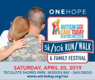 ONEHOPE Autism Care Today for Military Families 5k/10k