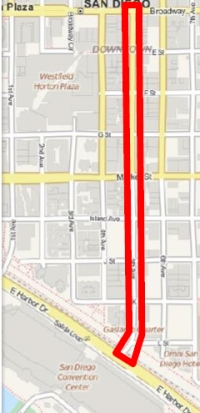 Fifth Avenue Parking in Gaslamp Quarter Converts to 3-Minute Loading on