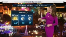 Sheena Parveen's Forecast for December Nights and Parade of Lights