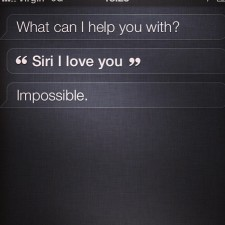 Apple's Siri Snarks About Google Glass