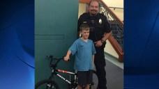 Coronado Police Officer Returns Stolen Bicycle to Boy