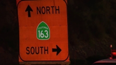SR-163 Lane Closures in Mission Valley to Last Through the Week