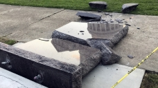 Man Accused of Wrecking 2nd Ten Commandments Monument