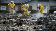 Calif. Fire Cleanup Worker Fired Over Photos From Burn Zone
