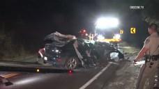 DUI Suspect Plows Into Tree in Escondido, Kills Passenger